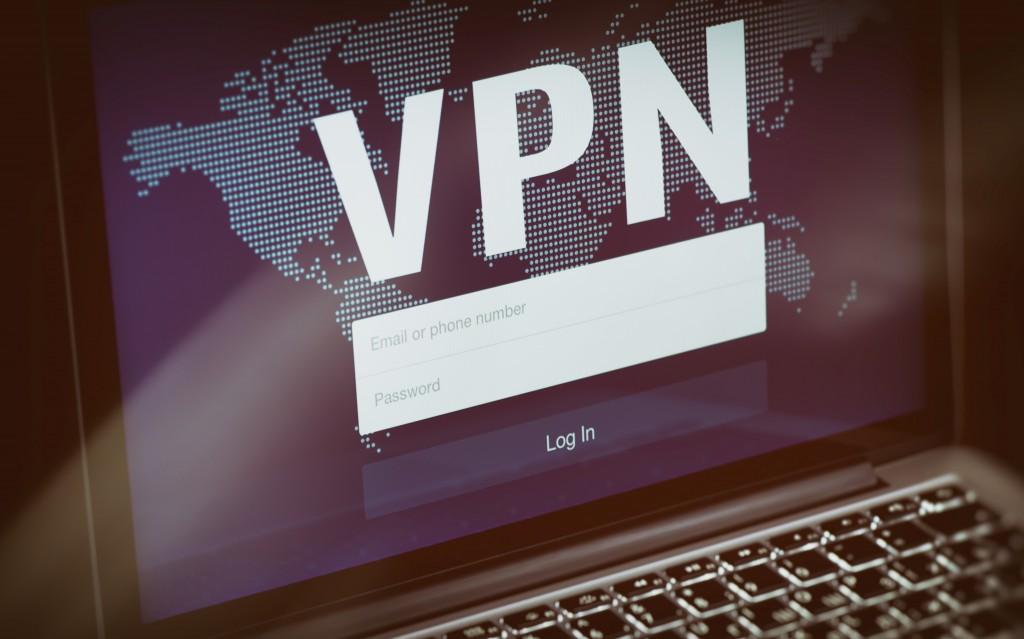 VPN on screen